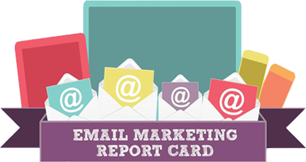 email marketing report card